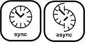 synchron-asynchron